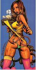 Rockin Jelly Bean Japan mini Art Poster Print Devil's House Wives 2 Vacuum