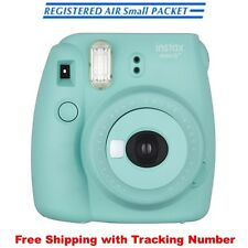 Fujifilm Instax Mini 8 + Selfie Mirror Instant Photo Camera Japan Mint Green