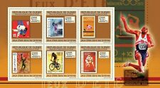 Summer Olympic Games on Stamps (England) m/s Guinea 2009 Mi 7093-98 MNH #GU0968a