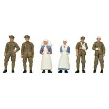 Bachmann 36-409 WW1 Medical Staff & Soldiers  '00' Gauge=1/76 Scale New Pack 1s
