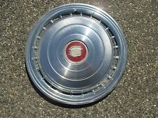 one 1978 Cadillac Coupe Deville Sedan Deville hubcap wheel cover