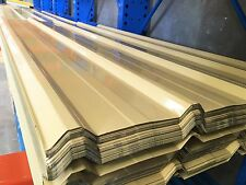 Colorbond Roofing & Fencing Iron Sheets T-Deck Cream  $8.00 L/M
