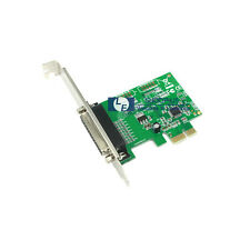 NEW 25 pin PCI-E Express Parallel LPT printer Card Moschip 9901 Support 64bit