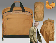 TIMBERLAND T20 (54)  GARMENT Suit Travel BAG Tan AUTHENTIC