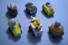 Wendy's 1990 Fast Food Racers - Complete Set of 6