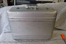 Halliburton Aluminum Zero case suitcase luggage 24x18x8