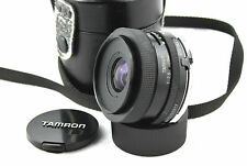 OLYMPUS OM fit TAMRON BBAR MC 1:2 .5 f = 28mm objectif grand angle. Adaptall 2.