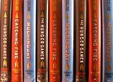 The Hunger Games Trilogy 3 Book Set Hardcover Catching Fire Mockingjay Very Good