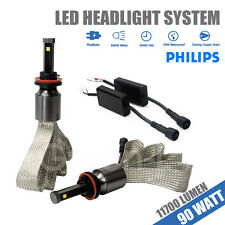H11 90W 11700LM PHILIPS CHIP LED Headlight Kit For Nissan Altima/Maxima/Murano U