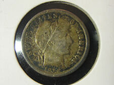 New listing 1914 Barber Dime Full Liberty 10c - 90% Silver - Free Shipping!