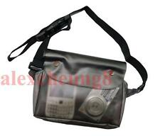 Waterproof Dry Pouch Shoulder Waist Belt Bag Case Pack Fishing Kayak Black