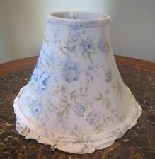 Fabric Lamp Shade Rachel Ashwell Simply Shabby Chic British Blue Rose
