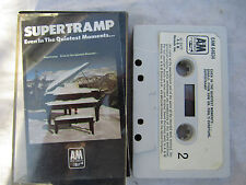 CASSETTE SUPERTRAMP EVEN IN THE QUIETEST MOMENTS uk a&m paper label original