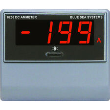 Blue Sea 8236 DC Digital Ammeter Amperage Meter Display with 500 Amp Shunt