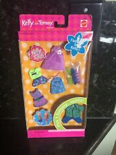 Lot Of BARBIE KELLY Tommy DOLL CLOTHING 5 OUTFITS 3 PAIR SHOES New Club 3