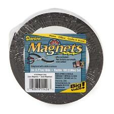 "10 Feet Flexible Craft Magnet Magnetic Strip 1/2"" Adhesive Backed Darice Brand"