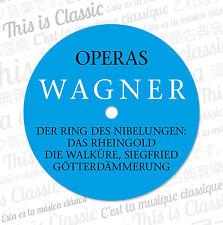 CD Der Ring Des Nibelungen von Richard Wagner Gesamt  Complete 13CDs Bayreuth
