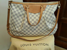 LOUIS VUITTON Siracusa GM Shoulder Bag Damier Azur SD4121 (USA)