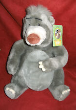 """Disney's BALOO BEAR from The Jungle Book 14"""" Plush  w/tag Disney Store Exclusive"""