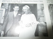 ephemera 1971 picture wedding mccrea lynne blanchard tunbridge wells
