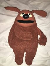 "Vintage 1977 Fisher Price Rowlf Puppet 17"" #852  Muppet Dog"