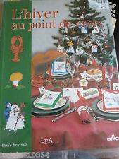 L' HIVER AU POINT DE CROIX- ANNIE  BELONDI livre neuf