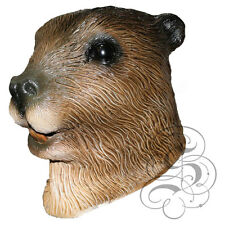 Latex Animal Aquatic Beaver High Quality Fancy Dress Up Party Carnival Masks