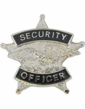 Tie Tac (U-T103S) Security Officer Silver