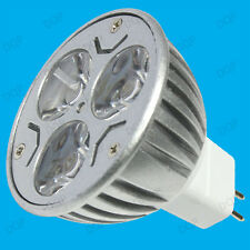 8x 9W (3x3W) MR16 GU5.3 12V Spot LED Regulable Bombillas lámparas de luz del día blanco