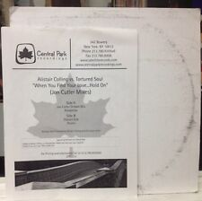 """[EDM]~NM 12""""~ALISTAIR COLLING~TORTURED SOUL~When You Find Your Love Hold On~TEST"""