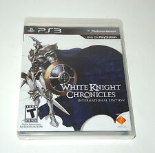WHITE KNIGHT CHRONICLES factory sealed PS3 Playstation PAL game new