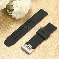 23mm Rubber Silicone Watch Band Replacement Strap Bracelet For Luminox Watch New