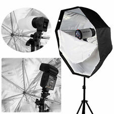 umbrella For SpeedLight/Flash 80cm/32in Octagon Softbox Brolly Reflector