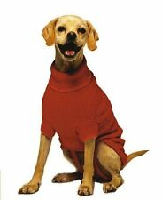 Fashion Pet Classic Cable Dog Sweater, Red, X-Large