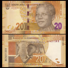 South Africa 20 Rand, 2012, P-134, UNC