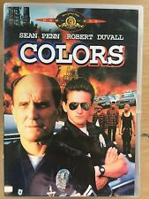 Sean Penn Robert Duvall COLORS Colours ~ LAPD Police Vs Gangs Thriller | UK DVD