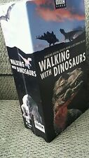 BBC Video WALKING WITH DINOSAURS~ 2 VHS box set 1999 (180 minutes in video)