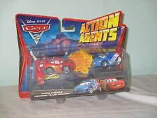 Disney Cars 2 Action Agents. Lightning / Flash McQueen. New on card. 2010 Mattel