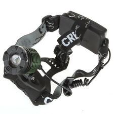 Waterproof 1600 Lumens CREE XM-L T6 LED Adjustable Zoomable Headlamp Headlight