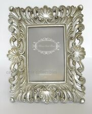 Silver Baroque Waves Photo Frame Modern Rococo For 4x6 Picture