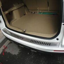 Stainless steel Rear Bumper Protector cover trim For Honda CR-V 2007-2011