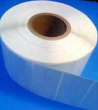 "4""x2"" Thermal Transfer paper labels, 4000/roll, 8000/box, perm adhesive, no perf"