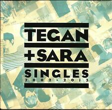 TEGAN AND SARA Singles 2002- 2013 Career Sampler STILL SEALED PROMO DJ CD USA
