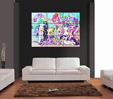 MY LITTLE PONY gigante Wall Art Print PICTURE POSTER