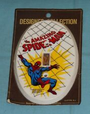 vintage THE AMAZING SPIDER-MAN SWITCHPLATE light switch cover