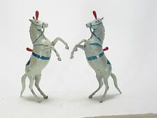 Britains Vintage Lead Figure Toy Zoo Circus Animals  --  Dancing Circus Horses