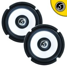 "Bass Face 5.25"" Inch 13cm 400w Mid Bass Drivers Car Door Subwoofer Speakers"