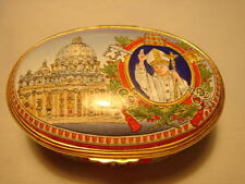 HALCYON DAYS ENAMELS - LIMITED EDITION - THE LIFE OF 'POPE JOHN PAUL II'