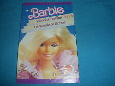 400A Catalogue Dépliant Barbie 1985 Mattel 18 pages Ken Skipper Mannequin
