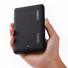 Portable ORICO USB 3.0 2.5'' SATA Enclosure External Case Cover Hard Drive Disk